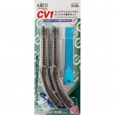 Kato N Scale Unitrack CV-1 Compact Oval Set