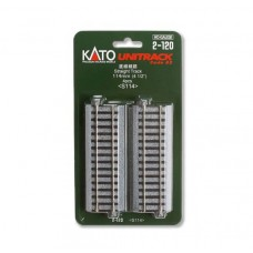 "Kato Unitrack Straight Sections 4-1/2""/114mm (4)"