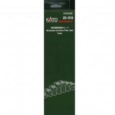Kato N Scale Gradual Incline Pier Set
