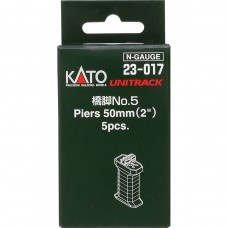 "Kato N Scale Unitrack 2"" (50mm) Piers"