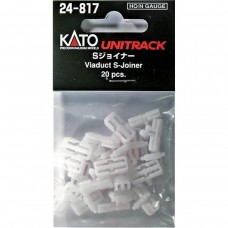Kato HO/N Scale Viaduct S-Joiner 20 Pack