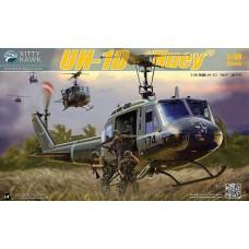 Kitty Hawk 1:48 UH-1D Huey Plastic Model Kit