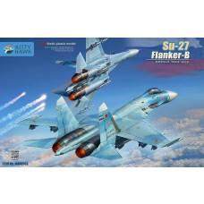 Kitty Hawk 1/48 Su27 Flanker B Plastic Model Kit
