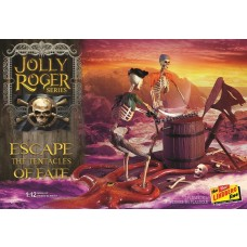 Lindberg 1:12 Jolly Roger Escape the Tentacles of Fate Plastic Model Kit