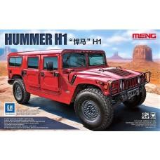 Meng 1:24 Meng Hummer H1 Plastic Model Kit
