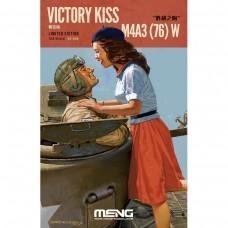 Meng 1:35 'Victory Kiss' (M4A3(76) Plastic Model Kit
