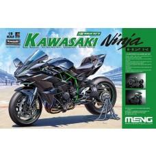 Meng 1/9 Kawasaki Ninja H2R Motorcycle Plastic Model Kit