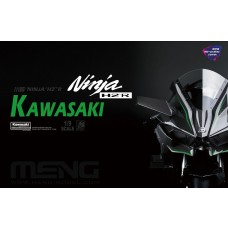 Meng 1/9 Kawasaki Ninja H2R Special Pre-Colored Version Plastic Model Kit