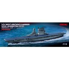 Meng Model 1/700 USS Lexington Plastic Model Kit