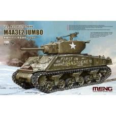 Meng 1:35 M4A3E2 Jumbo Sherman Plastic Model Kit