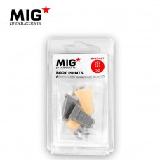 MIG American Modern Boot Prints Detail Accessories
