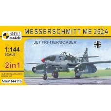 Mark I Models 1:144 Me.262A Plastic Model Kit