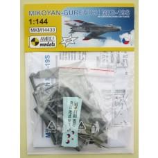 Mark I Models 1/144 MiG19S Plastic Model Kit