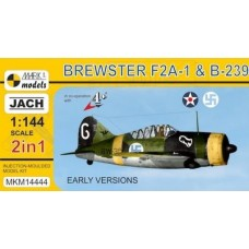Mark I Models 1/144 Brewster F2A1 Plastic Model Kit