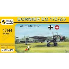 Mark I Models 1/144 Dornier Do.17Z-2/3 Plastic Model Kit