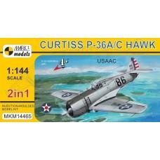 Mark I Models 1/144 Curtiss P36A Plastic Model Kit