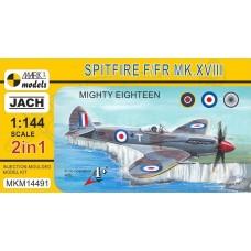 Mark I 1:144 Spitfire F/FR Mk XIII Plastic Model Kit
