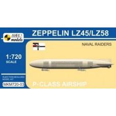 Mark I Models 1/720 Zeppelin LZ45 Plastic Model Kit