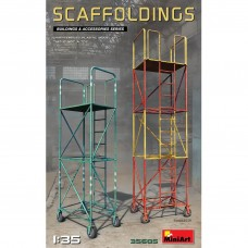 Miniart 1:35 Scaffoldings Plastic Model Kit