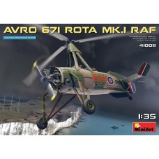 Miniart 1/35 Avro 671 Rota Mk I RAF Plastic Model Kit