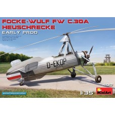 Miniart 1/35 Focke Wulf FwC30A Heuschrecke Early Prod Plastic Model Kit