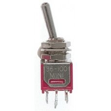 DPDT 3AMP 120V Sub Miniature Toggle Switches
