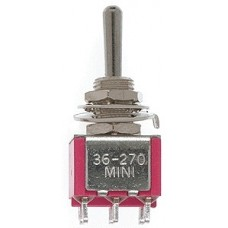 DPDT 5Amp 120V Momentary Miniature Toggle Switches