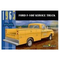 Moebius 1/25 1965 Ford F-100 Service Truck Plastic Model Kit