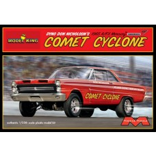 Moebius 1/25 1965 A/FX Mercury Comet Cyclone Plastic Model Kit