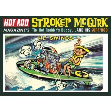 MPC Stroker McGurk Surf Rod Figure Plastic Model Kit