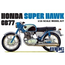 MPC 1/16 Honda Super Hawk Motorcycle Plastic Model Kit