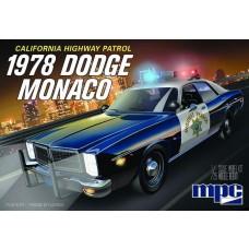 MPC 1:25 1978 Dodge Monaco CHP Police Car Plastic Model Kit
