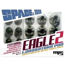 MPC 1/48 Scale Space 1999 Eagle 2 Supplemental Metal Parts