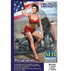 Masterbox 1:24 Marylin Pin-Up Girl Plastic Model Kit