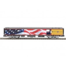 MTH Electric Trains O Scale Premier 70' Streamlined Baggage Car