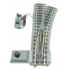 MTH Electric Trains Real Trax Snap Together Track O-72 Right Hand Switch