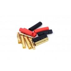 MT Racing 4mm Bullet Connectors (3 pair)
