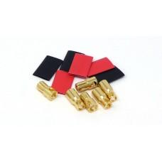 MT Racing 6mm Bullet Connectors (3 pair)