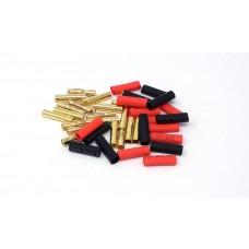 MT Racing 4mm Bullet Connectors (10 pair)