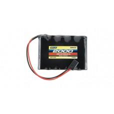 Onyx NiMH 6V 2000mAh Flat Receiver Battery Pack