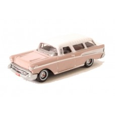 Oxford Diecast HO Scale 1957 Chevy Nomad Dusk Pearl