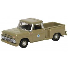 Oxford Diecast HO Scale 1965 Chevy Stepside Pickup Bell System