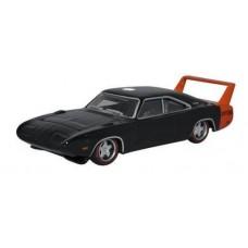 Oxford Diecast HO Scale 1969 Dodge Charger Daytona Black