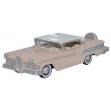 Oxford Diecast HO Scale 1958 Edsel Citation Pink