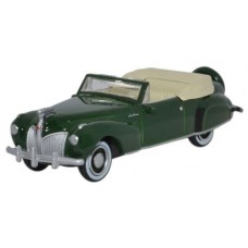 Oxford Diecast HO Scale 1941 Lincoln Continental Spode Green