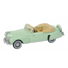 Oxford Diecast HO Scale 1941 Lincoln Continental Paradise Green