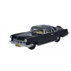 Oxford Diecast HO Scale 1956 Lincoln Continental MkII Presidential Black