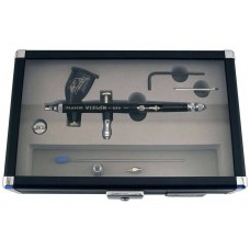 Paasche Vision Double Action Gravity Feed Airbrush Set