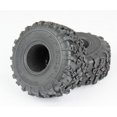 "Pitbull Tires Rock Beast XOR 1.9"" Crawler Tires Alien (2)"