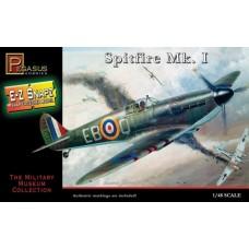 Pegasus Hobby 1/48 Snap, Spitfire Mark I Plastic Model Kit